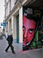 Claudio Picasso / Werregarenstraatje - 7 jan 2019 (Ferdinand 'Ferre' Feys) Tags: gent ghent gand belgium belgique belgië streetart artdelarue graffitiart graffiti graff urbanart urbanarte arteurbano ferdinandfeys
