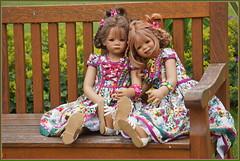 Milina und Tivi ... eine schöne neue Woche ... (Kindergartenkinder 2018) Tags: sommer milina tivi kindergartenkinder