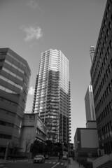 buildings (Hideki-I) Tags: bw blackandwhite 白黒 黑白 nikon d850 2470 building kobe japan
