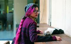 Pink Cat (nima.mojiz) Tags: tehran iran nikon f100 fujifilm analog filmphotography analogphotography filmisnotdead ishootfilm