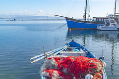 """Lungomare """"Caduti Nassyria"""", Sant'Antioco (Francesca Murroni ┃Wildlife Photographer) Tags: barche boats pescherecci fishnets santantioco porto port sea landscape seascape sulcis sardegna sardinia"""