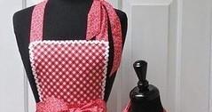 Kitchen apron موديلات و باترونات مئزر المطبخ (ezo-handmade) Tags: اشغال يدوية الطرز و الخياطة خياطة مئزر المطبخ