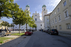 St Stephens Cathedral - Baroque 1688 (rschnaible) Tags: st stephens cathedral church historical history circa 1688 baroque architecture building passau germany europe outside exterior
