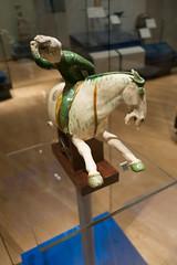 Tang dynasty wild rider (quinet) Tags: 2017 antik asia canada ontario rom royalontariomuseum toronto ancien antique