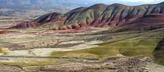 The Great American West (Painted Hills, OR) (Eclectic Jack) Tags: eastern oregon trip october 2018 rural autumn fall mountains painted hills hill central