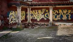 jlvill  174  El paso del tiempo y.......... sobre todo del ser humano (jlvill) Tags: ruinas vandalismo barbarie 1001nights abandono maltrato 1001nightsmagiccity