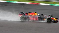 Daniel Ricciardo running under the rain (Marco Moscariello) Tags: formula1 ricciardo rain redbull f1 motorsport panning danielricciardo australia monza dr3 scia contrail car water