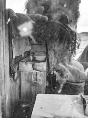 (PepaAston) Tags: bodie california blackandwhite reflection ghost town gold