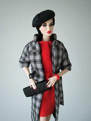 A Fabulous Life Rayna (Deejay Bafaroy) Tags: fabulouslife fashion royalty fr doll puppe barbie integrity toys rayna portrait porträt red rot black schwarz afabulouslife