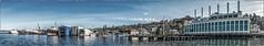 Waterway 8 (NoJuan) Tags: panoramic panorama panasonic1232mm 1232mmpanasonic panasonicgx85 gx85 microfourthirds micro43 mirrorless lakeunion seattlewa washingtonstate washingtonstatedowntowns pacificnorthwest