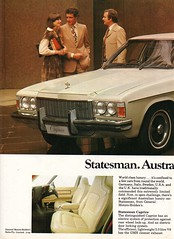 1977 HX Statesman Caprice By Holden Page 1 Aussie Original Magazine Advertisement (Darren Marlow) Tags: 1 7 9 19 77 1977 h x hx holden s statesman c caprice sedan car cool collectible collectors classic a automobile v vehicle g m gm gmh general motors aussie australian australia 70s