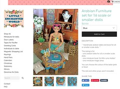 As I promised you, I just updated the online shop with the arabian miniatures. Wishes of a great week for all of you!♂️♀️☺️ (♥ Little Enchanted World ♥) Tags: arabian nights miniatures props fordolls barbie poppyparker doll collectors handmade little enchanted world bellydance