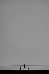 between (Birdhouse camper) Tags: copenhagen denmark fujifilm fuji xt2 fujixt2 blackandwhite blackwhite street silhouette scale