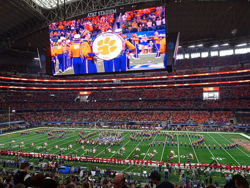 Cotton Bowl 11 - Bass drum goes boom