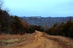 Madison County Road 3755 -SW of Kingston, Arkansas (danjdavis) Tags: countryroad countyroad dirtroad road lanscape forest madisoncounty arlkansas
