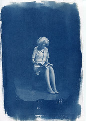 untitled (1969lucy) Tags: cyanotype altprocess analogue blueprint