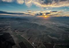 Marrakesch (Oliver H16) Tags: mountains marokko atlas gebirge marrakesh afrika hotairballoon desert berge heisluftballon landschaft himmel meer berg sonnenuntergang