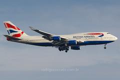 G-CIVJ (rcspotting) Tags: gcivj boeing 747400 british airways gru sbgr