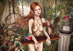Give A Little Love (Gabriella Marshdevil ~ Trying to catch up!) Tags: sl secondlife cute kawaii fantasy elf wasabipills astralia lelutka mudskin sweetthing jian yokai