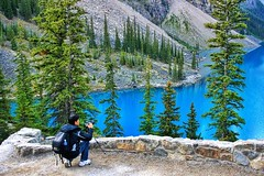Blue Water (Mike Roe Photography) Tags: ©mikeroephotography morainelake canada photographer blue