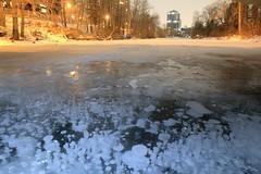 Methane bubbles 2019 view (John Andersen (JPAndersen images)) Tags: calgarycanada methanebubbles cold ice night elbowriver missiondistrictcalgary