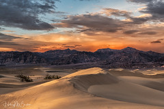 _6HB7613 (Hilary Bralove) Tags: landscape nikon sanddunes deathvalley mesquitesanddunes sunset california deathvalleynationalpark