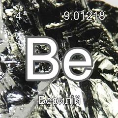 Хімічні елементи Берилій  Be InterNetri Ukraine