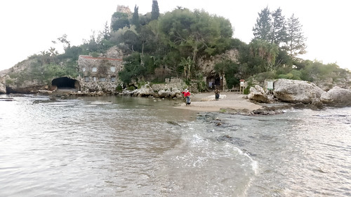 Isola Bella in Taormina, Sicily
