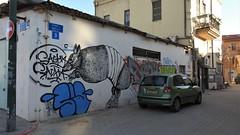 Яффо (unicorn7unicorn) Tags: улица машина дом рисунок город wah israel ישראל crazytuesday streetart