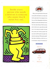 1996 Honda Odyssey Minivan USA Original Magazine Advertisement (Darren Marlow) Tags: 1 6 9 19 96 1996 h honda o odyssey m minivan c car cool collectible collectors classic a automobile v vehicle j jap japan japanese asian asia 90s
