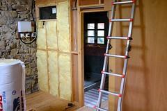 aislamiento (neil cummings) Tags: riocaliente diy insulation bathroom pocketdoor studwall