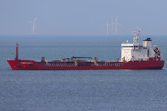 Bomar Ceres 1993 (Tony Withers photography) Tags: tanker chemical shipping commerce thames margate roads anchorage
