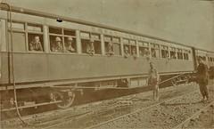 India Railways - Great Indian Peninsula Railway - GIPR bogie-type coach Nr. 4749 - British troop train in May 1919 (HISTORICAL RAILWAY IMAGES) Tags: india train railways raj british military coach gipr 1919 bombay