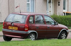 N756 HRE (Nivek.Old.Gold) Tags: 1996 vauxhall corsa 14 ls auto 5door taylorspitstop