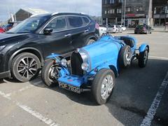 Bugatti Replica (occama) Tags: pof783g teal bugatti replica kit car 1969 blue cornwall uk sports old sun sunny