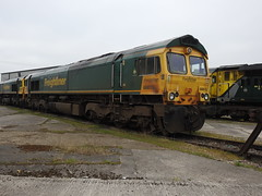 66615 (S.G.J) Tags: freightliner midlandroad leeds class66 66615