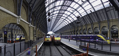 King's Cross Station (McTumshie) Tags: 20190406 hst highspeedtrain hulltrains intercity125 kgx kingscrossstation london virgintrainseastcoast panorama railway uk