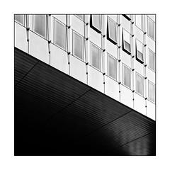 Windows (Jean-Louis DUMAS) Tags: abstract abstrait abstraction architecture architect architecte architectural architecturale bâtiment building noir et blanc nb noireblanc bw black white