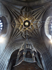 Tower Vault & Font Cover, Newcastle Cathedral (Aidan McRae Thomson) Tags: newcastleupontyne cathedral architecture medieval interior tynewear newcastle ceiling vault vaulting