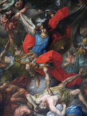 Pfarre St Michael in Steyr 105a (Andras Fulop) Tags: church kirche austria nikon painting angel indoor