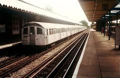 1578 @ Hainault (Chris W 72) Tags: londonunderground 62tubestock 62ts centralline 1578 hainault hainaultstation
