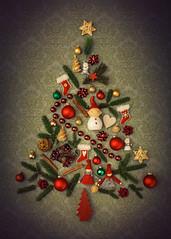 Merry Christmas Flickr (mad_airbrush) Tags: 5d 5dmarkiii 50mm 50mm14 ef50mmf14usm christmas christmastree art artwork collage weihnachtsbaum weihnachten flash blitz strobe strobist strobistcom yn622c yongnuo