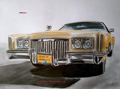 Cadillac Eldorado'73 (paul7310) Tags: cadillac eldorado fleetwood авто рисунок draw drawing