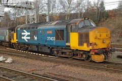 37403 (Rob390029) Tags: direct rail services class 37 37403 norwich railway station nrw train