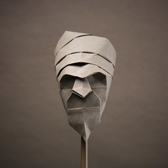Sultan (pierreyvesgallard) Tags: origami davor vinko head mask sultan paper folding