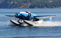 C-FGNR (John W Olafson) Tags: cfgnr seaplane beech18 via campbellriver