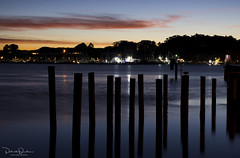 Bodega Bay Twilight (Patrick Dirden) Tags: sunset dusk twilight pink purple orange yellow clouds silhouette night light bay water bodegabay sonomacoast sonomacounty northbay northcoast northerncalifornia california