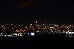 Moon over Washington DC (Arantxata) Tags: washingtondc 2019 arantxata usa arlington rosslyn ceb observatory