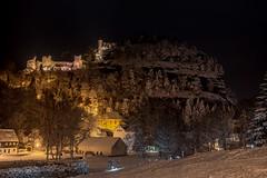 Winter in Oybin (matthias_oberlausitz) Tags: winter oybin oberlausitz zittauer gebirge lausitzer burgruine ruine burg kloster kirche schnee