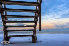 Stairway from heaven... (Betrachtungsweisen) Tags: holland ef1740mmf4lusm winter breskens himmel nordsee wintertraum canon 2019 eos6d zeeland niederlande nl sky nordzee meerweh strand beach schnee